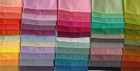 60 Color Shot Cotton Reg, Qtr. Yard Assortment