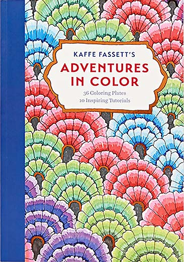 Adventures In Color COLORING BOOK