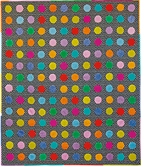 Technicolor Circles Quilt Fabric Pack