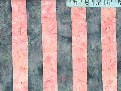 Pink Big Stripe Batik