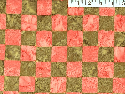 Green Chess Batik