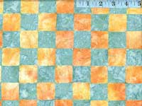 Yellow Chess Batik