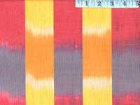 Yellow Ikat Stripe