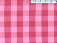 Lipstick Checkerboard Plaid Ikat
