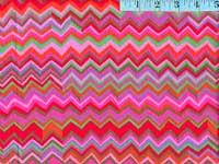 Warm Zig Zag Laminated Fabric