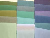 Blue Grass Shot Cotton Reg. Qtr. Yd. Assortment