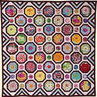 Floral Octagons Quilt Fabric Pack