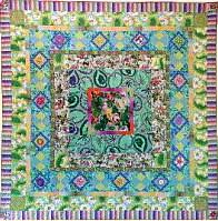 Leafy Medallion Quilt Fabric Pack