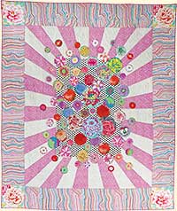 Radiating Bubbles Quilt Fabric Pack