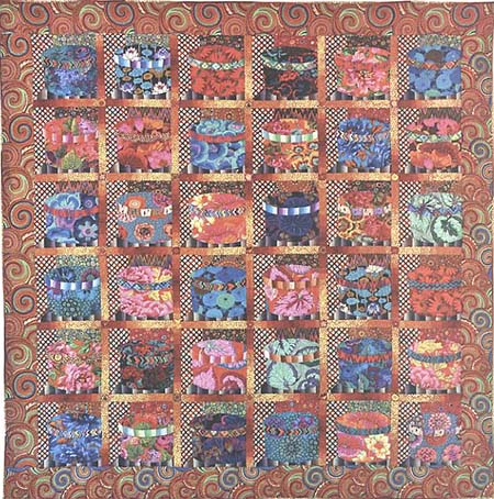 Tawney Hatboxes Quilt Fabric Pack