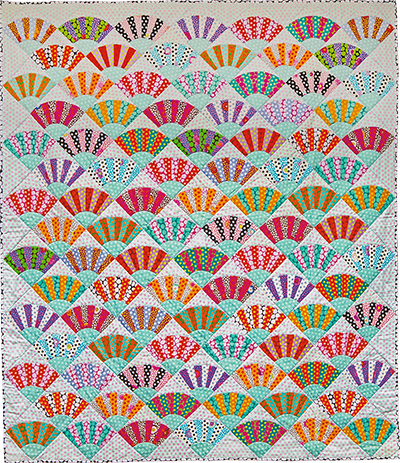 Dotty Fans Quilt Fabric Pack