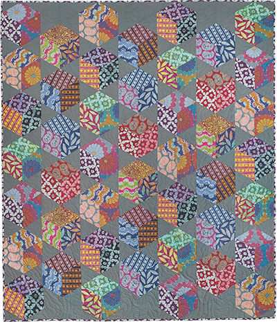Artisan Floating Blocks Quilt Fabric Pack (pattern not included)