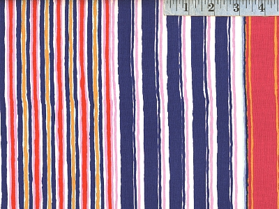 Contrast Regimental Stripe