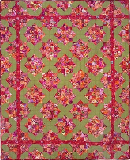 Garden Lattice Quilt Fabric Pack