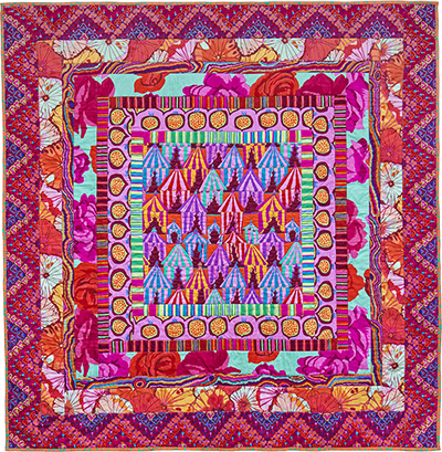Glamping Medallion Quilt Fabric Pack