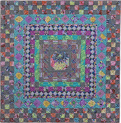 Graphite Medallion Quilt Fabric Pack