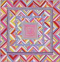 Candy Zigzag Ribbon Quilt Fabric Pack