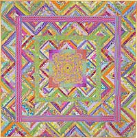 Citrus Zigzag Ribbon Quilt Fabric Pack