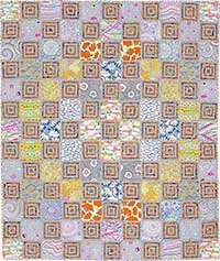 Log Cabin Sampler Quilt Fabric Pack