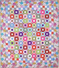 Pastel Donut Quilt Fabric Pack