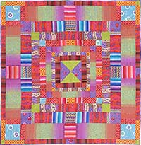 Sunset Stripes Quilt Fabric Pack