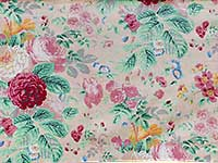 Shell Grandi Flora Home Dec. Fabric