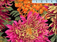 Red Japanese Chrysanthemum