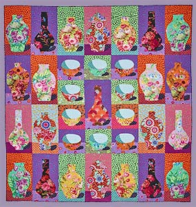 Bowls and Vases Quilt