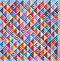 Marquee Chevrons Quilt Fabric Pack