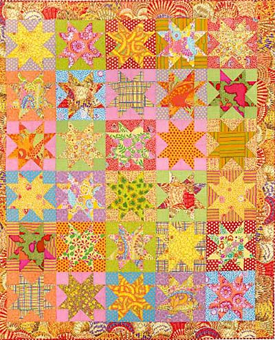 Sunshine Stars Quilt Fabric Pack