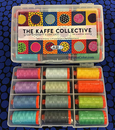 The Kaffe Collective Thread Set