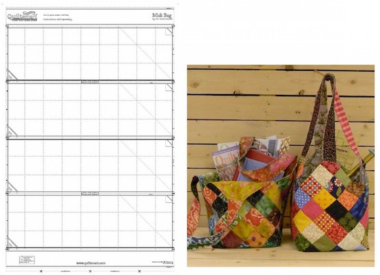 Midi Bag Pre-Printed Interfacing