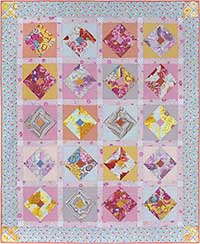 Pastel Blush Quilt Fabric Pack