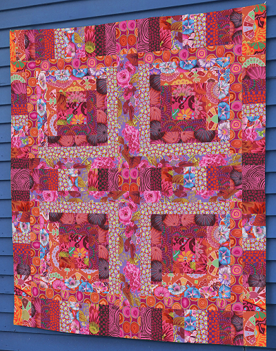 Red Mosaic Quilt Kit