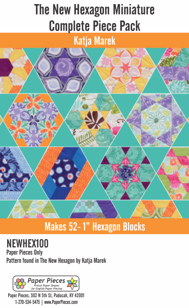 New Hexagon Miniature Complete Paper Piece Pack
