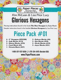 Glorious Hexagons Paper Pieces Pack #01
