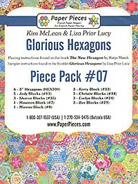 Glorious Hexagons Paper Pieces Pack #07