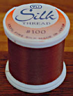 Dark Cocoa Silk Appliqu� Thread (#234)