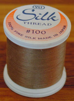 Taupe Silk Appliqué Thread (#235)