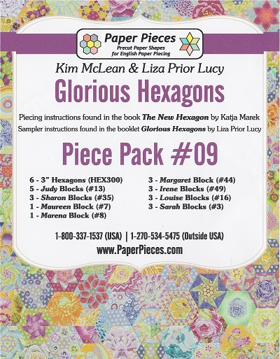 Glorious Hexagons Paper Pieces Pack #09