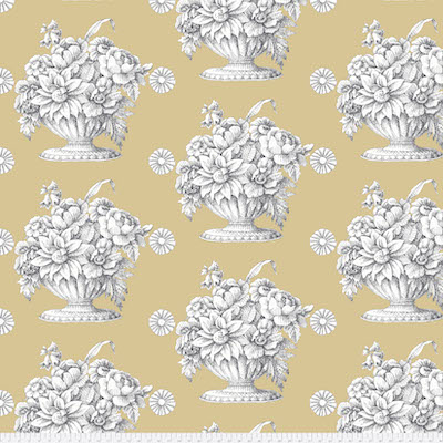 Beige Stone Flower Backing Fabric (2.375 yd)