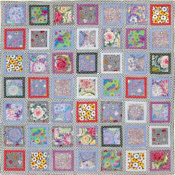 Dotty Frames Quilt Fabric Pack