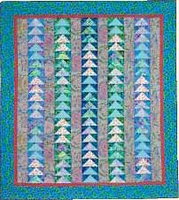 Geese In Flight Quilt Fabric Pack