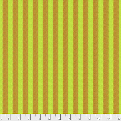 Sulfur Narrow Shot Cotton Stripe