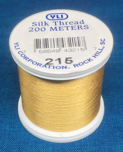Gold Silk Applique Thread (#215)