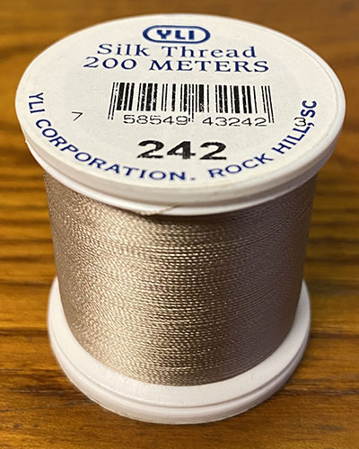 Cocoa Silk Applique Thread (#242)