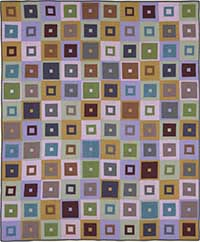 Square In Square Quilt Fabric Pack