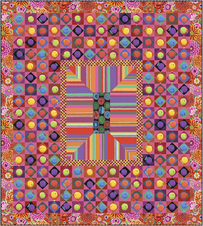 Sunset Boulevard Quilt with One Shot Cotton