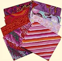 Red Hots Half Yard Vintage Fabric Bundle