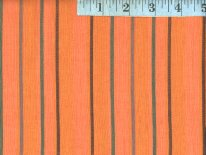 Alternating  Orange Woven Stirpes